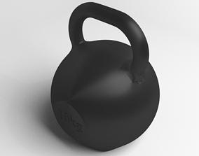 Kettlebell 10kg 3D