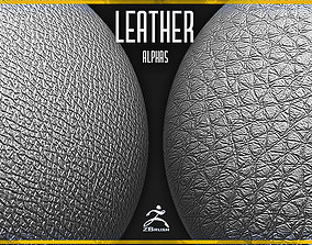 3D model 20 Leather Alphas Vol 6 for ZBrush and Substance