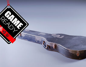 Old Guitar Case 3D model