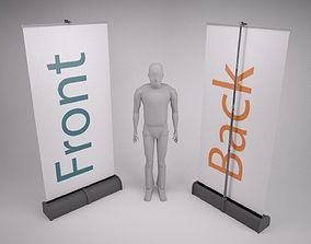 3D model Roller Banner
