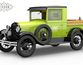 Ford Model A 1928 Pickup Rigged rigged