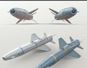 3D asset AGM-142 Popeye 1 - 2