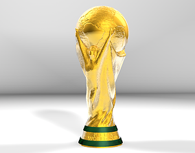 3D FIFA FOOTBALL WORLD CUP TROPHY