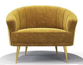 3D model Maya armchair