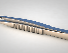 Tweezers 3D model