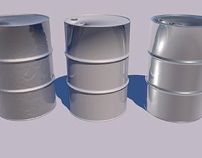 Barrel pump 3D model