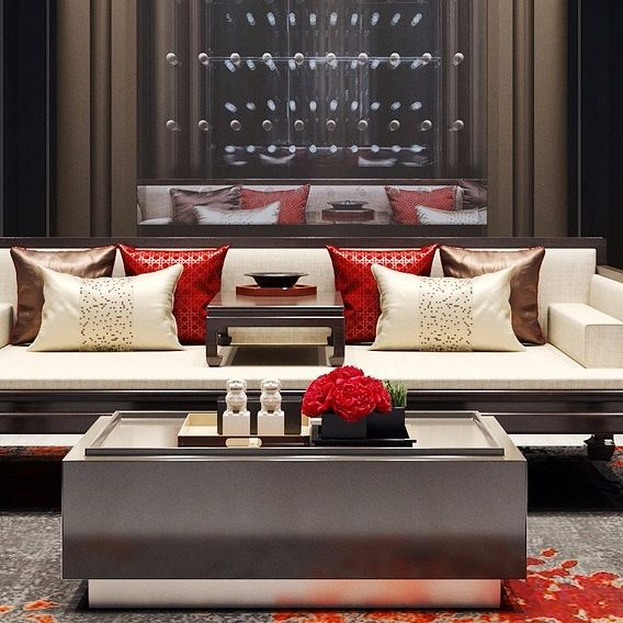 new chinese style sofa ,who like china design?