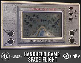 3D asset Handheld game Space Flight