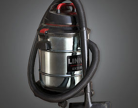 Wet Dry Shop Vaccum TLS - PBR Game 3D asset