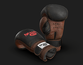 Boxing Glove 3D model realtime