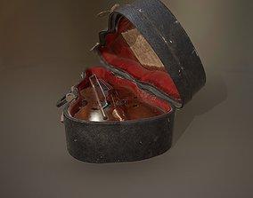 3D asset Antique Miniature Cello