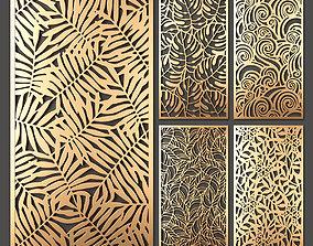 3D Decorative panel set 47