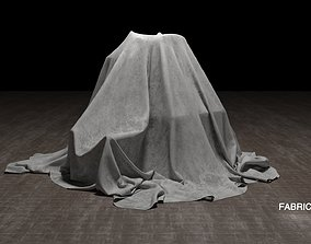 Fabric cover 3D model
