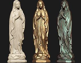 Saint Mary Model Ready For 3D Print
