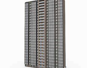 Residential High-Rise Building 3 3D model