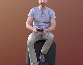 3D asset Lars 10429 - Playing Casual Man