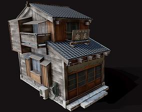 Japan Style House Tsukishima 3D asset