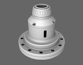 3D Limited Slip Differential