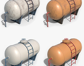 3D Oil Tank Containers