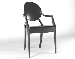 Louis Ghost Armchair 3D model