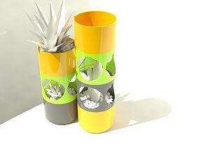 Modular Cactus Planter 5 3D print model