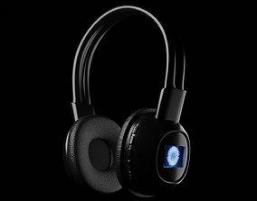 3D model Headphones stereo