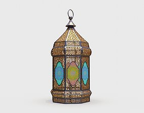 3D model ramadan lantern arabian