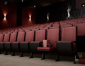Movie Theater Pack - 28 Realistic Movie Theater 3D asset