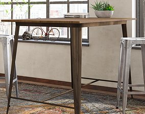 3D Reedley Counter Height Dining Table