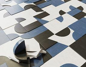 Tile Mutina Puzzle n3 3D model
