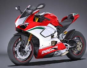 Ducati Panigale Speciale V4 2018 3D model