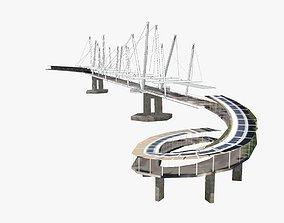3D model VR / AR ready Kurilpa Bridge