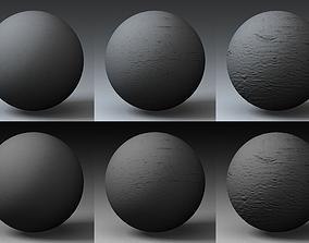 Displacement Landscape Shader 035 3D model
