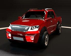 3D model Toyota hilux