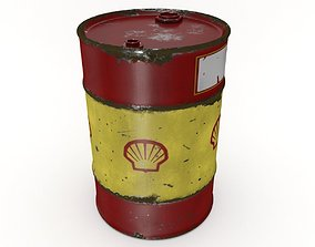 Oil Drum 200L 3D VR / AR ready