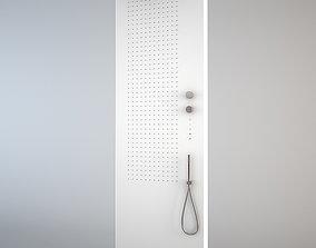 Fantini Acquapura shower panel 3D model