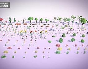 3D model Environment Asset Kit