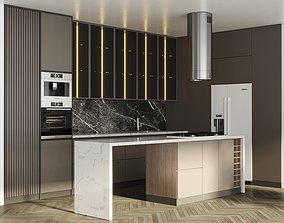 Hadi Kitchen Appliance Bosch Kitchen No 14 3D asset