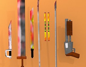 3D asset light weapons more BOUNS