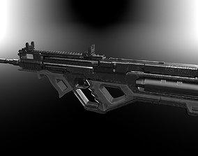 3D Modern weapon small set