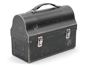 Vintage Lunch Box 3D model