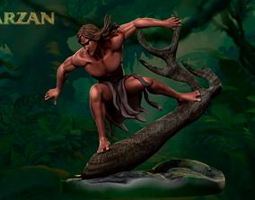 Tarzan Dioram 3D printable model