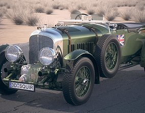 Bentley 4-5 blower 1929 desertstudio 3D