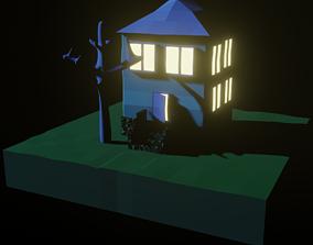 Creepy house 3D