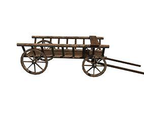 3D asset VR / AR ready wagon