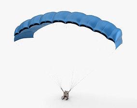 3D model parachute Parachute