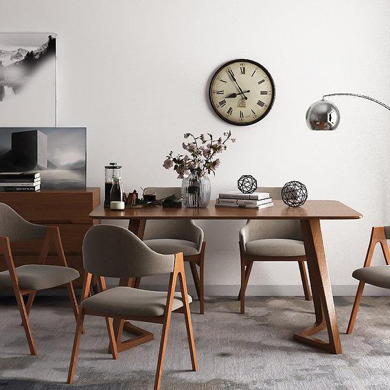Dining room model 02