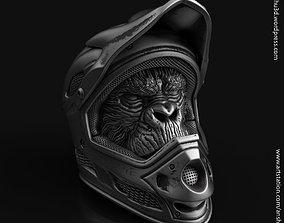 Biker monkey vol2 Pendant jewelry 3D print model