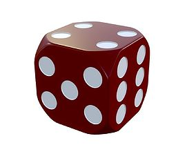 red dice 3D PBR