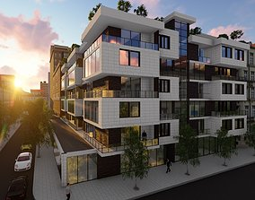 3D model Residential Building - incl Architectural Plans